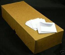 "COIN ENVELOPES - mini tiny new White 2"" x 2"", 1000/Box"