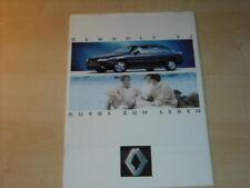28725) Renault R19 16V Alpine A610 Espace Prospekt 1993