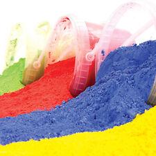 Powder Paint 2.5kg  500g Pigment Bright Colours Non Toxic Gluten Free Run Mix