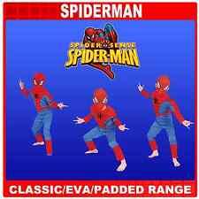 Spiderman Spider Sense Enfant costumes 8 ans, classique, eva Deluxe