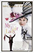 """My Fair Lady"" 4.Audrey Hepburn Rex Harrison..Vintage Movie Poster Various Sizes"