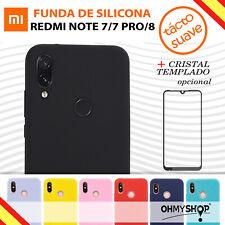 Funda Xiaomi Redmi Note 7 - Note 7 Pro - Note 8 Carcasa Silicona Flexible Ligera