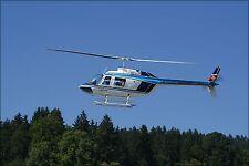 Poster, Many Sizes; Helit Bell 206 B_Jetranger Iii_