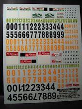 DECALS 1/24 PLAQUES RALLYE WRC 2010 PART 5 - COLORADO  24128