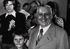 Art Print POSTER Professor Ilya Prigogine with his Son