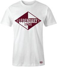 """LEGENDARY STATUS"" T-Shirt to Match Air 6 Retro ""MAROON"""