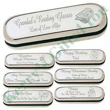 Engraved Glasses Case Christmas Gift Grandparents Grandma Nana Pops Grampa Gifts