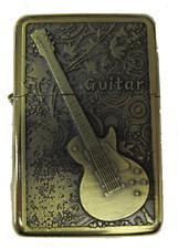 Guitarr Design Star Petrol Lighter In Gift Tin