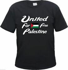 FREE PALESTINE T-Shirt - Text / Flagge - S  bis 3XL - gaza westjordan palästina