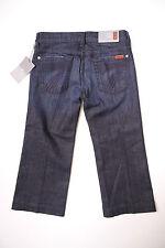 NWT 7 Seven for All Mankind CROP DOJO Los Angeles Dark LADK capri jeans 23 or 24