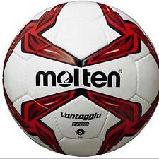 MOLTEN f5v1700 Mano Cucito confronta e formazione PVC cuoio rosso calcio