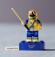 Power Rangers Mega Bloks Series 3 Translucent Samurai Gold Ranger Rare
