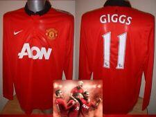 Manchester United Nike BNWT Xl Xxl Giggs Mata Rooney Fútbol Remera Jersey Utd Nuevo