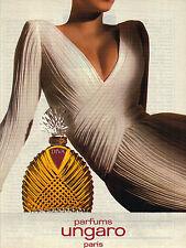 PUBLICITE ADVERTISING  1990   DIVA  parfum UNGARO