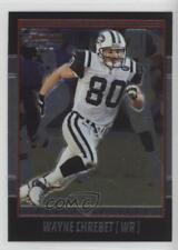 2001 Bowman Chrome #51 Wayne Chrebet New York Jets Football Card