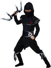 Halloween Outfit Silent Assassin Mercenary Warrior Ninja Costume Child Boys