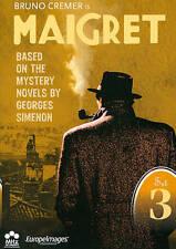 Maigret: Set 3 (DVD, 2012, 6-Disc Set) Episodes 13-18