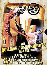 Dollman Demonic Toys Collection 3 DVD SET: Tim Thomerson, Kamala Lopez