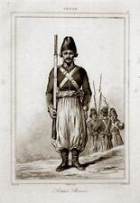 Soldaten Persien Iran 1841 Soldates Persans Perse