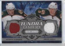 2008 Upper Deck Artifacts #TT-GK Marian Gaborik Mikko Koivu Minnesota Wild Card