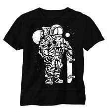 Backstreetshirt, T-Shirt, schwarz,Astronaut, Skater, Fun, NASA, bis 5XL