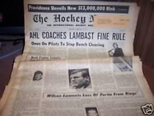 The Hockey News 2/19/1971 Ron Garwasiuk Providence
