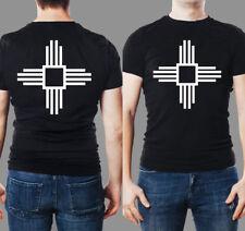 ZIA- Square State New Mexico NM flag symbol T Shirt