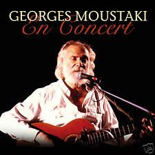 CD Georges Moustaki En Concert