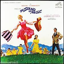 El sonido de música 1965 Álbum Cubierta de Lona arte cartel impresión Julie Andrews 60s
