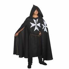 Medieval Crusader Knight Of St. John Costume SCA Reenactment Cosplay Cloak Robe