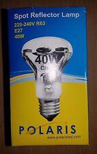 40w ES Screw In E27 Spotlight Reflector Light Bulb Lamp 4 10 Bulbs R63 Value!