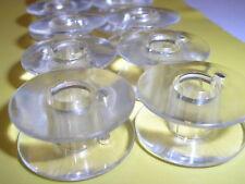 10 SINGER SEWING MACHINE PLASTIC DROP in bobine per vecchi modelli CANTANTE