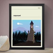 Rapunzel Fairy Tale Poster