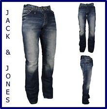 Jeans jack jones da uomo regular a gamba dritta dritti svasati zampa w30 w33 w34