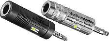 goobay ® Audio Klinke Adapter Klinke 3,5 mm Stecker > 6,35 mm Buchse Stereo NEU