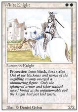 WHITE KNIGHT 1°EDIZIONE SUMMON KNIGHT  MAGIC THE GATHERING INGLESE NUOVO MINT