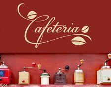 Wandtattoo Cafeteria Espresso Latte Macciato Café Kaffee Cappuccino uss083