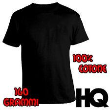 Tshirt T-shirt Maglietta Maglia Maniche Corte 100% Cotone 150 Grammi Stock NEW