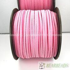 Soft Velvet Korea Frosting Cord Thread For Diy Bracelet Necklace 5Yard 100Yard