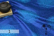 Chinese Satin Faux Silk Fabric Brocade Cloud Dress Garment Tang Suit Retro New