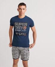 Superdry Herren Core Logo Text Kurzarm-T-Shirt