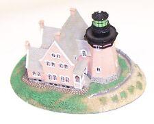 Danbury Mint Block Island Southeast Lighhouse Historic Amer Lighthouses Chipped