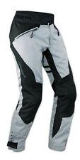 Pantaloni Donna Lady Impermeabile Moto Imbottitura Termica Estraibile Grigio