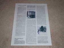 Dynaco Dynakit Mk II Amplificatore Review, 1956, 1 Pg , Specifiche