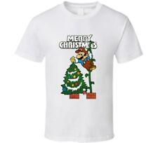 Super Mario Christmas Theme Holiday Season T Shirt