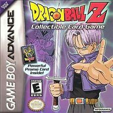 Dragon Ball Z: Collectible Card Game - Game Boy Advance GBA Game