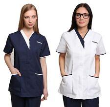 Cavell Health Healthcare Beauty SPA Salon Therapist Massage Tunic Uniform Top
