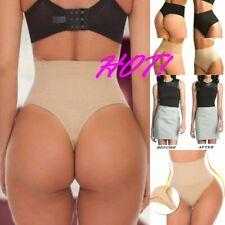 Tummy Control Women High Waist Thong Body Shaper Butt Lifter Shapewear Underwear