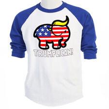 TRUMPLICAN,Trump Republican Support! Baseball T's Sizes S-3XL,w/T-Shirts T-1170
