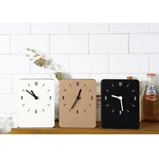 Multipurpose Table & Wall Clock Non-Ticking Silent Quartz Desk Clock